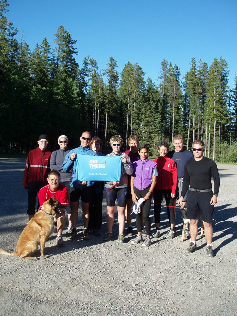 Club shot after one of the Tuesday night trail runs